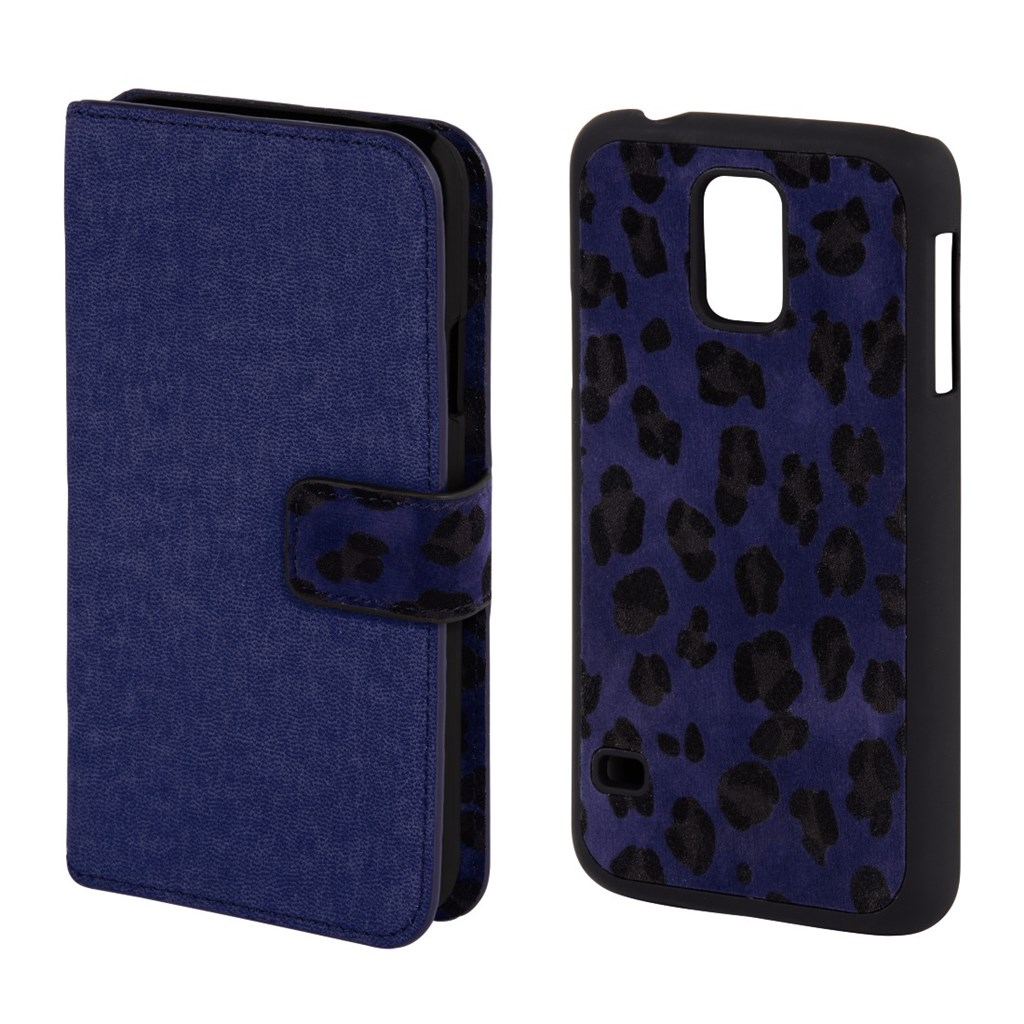 Hama Leo 2in1 Booklet Case for Samsung Galaxy S5 mini, royal blue