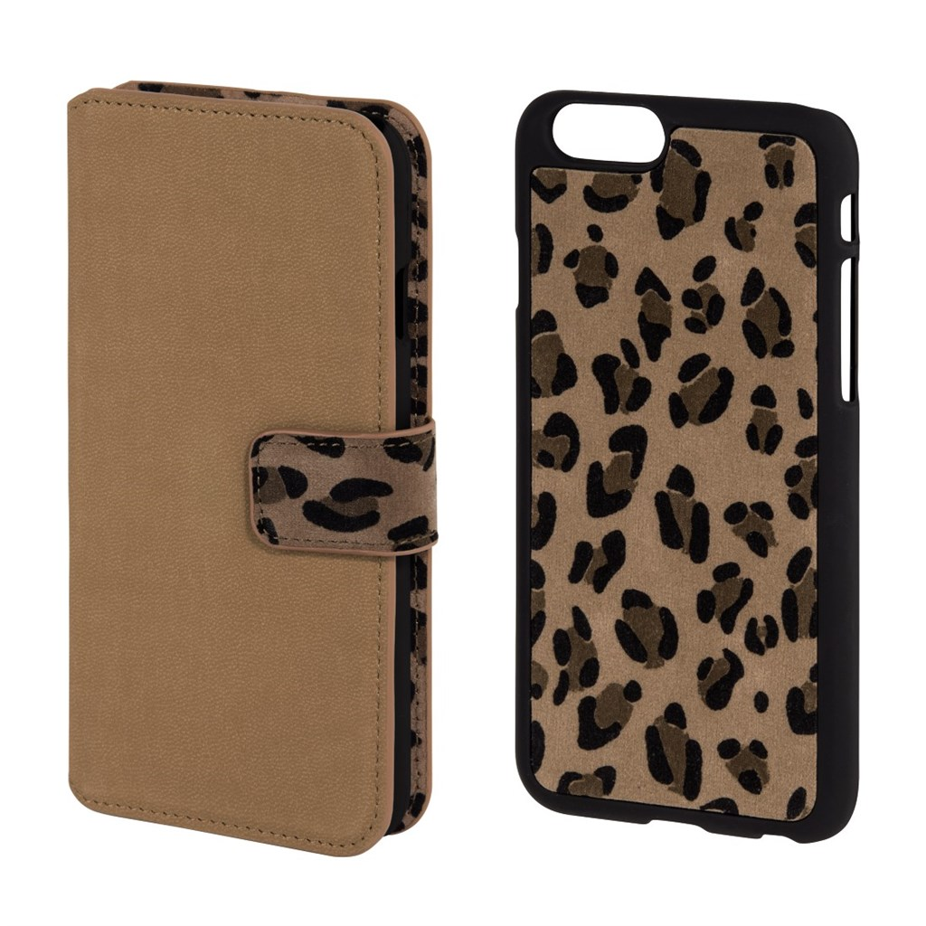 Hama Leo 2in1 Booklet Case for Apple iPhone 6, beige