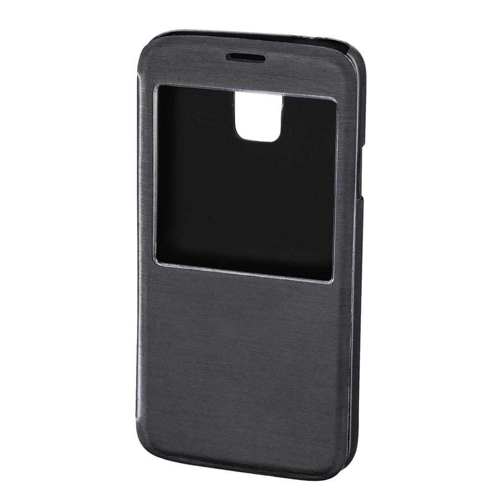 Hama Window Booklet Case for Samsung Galaxy S5 (Neo), anthracite