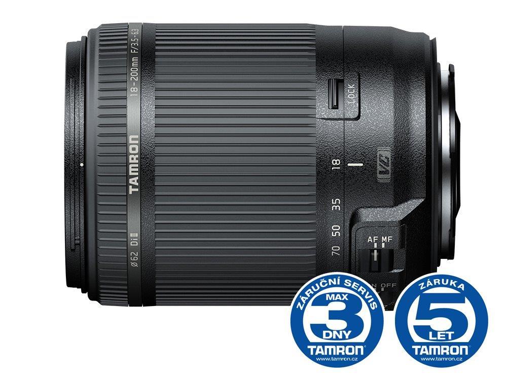 Tamron AF 18-200mm F/3.5-6.3 Di II VC Canon