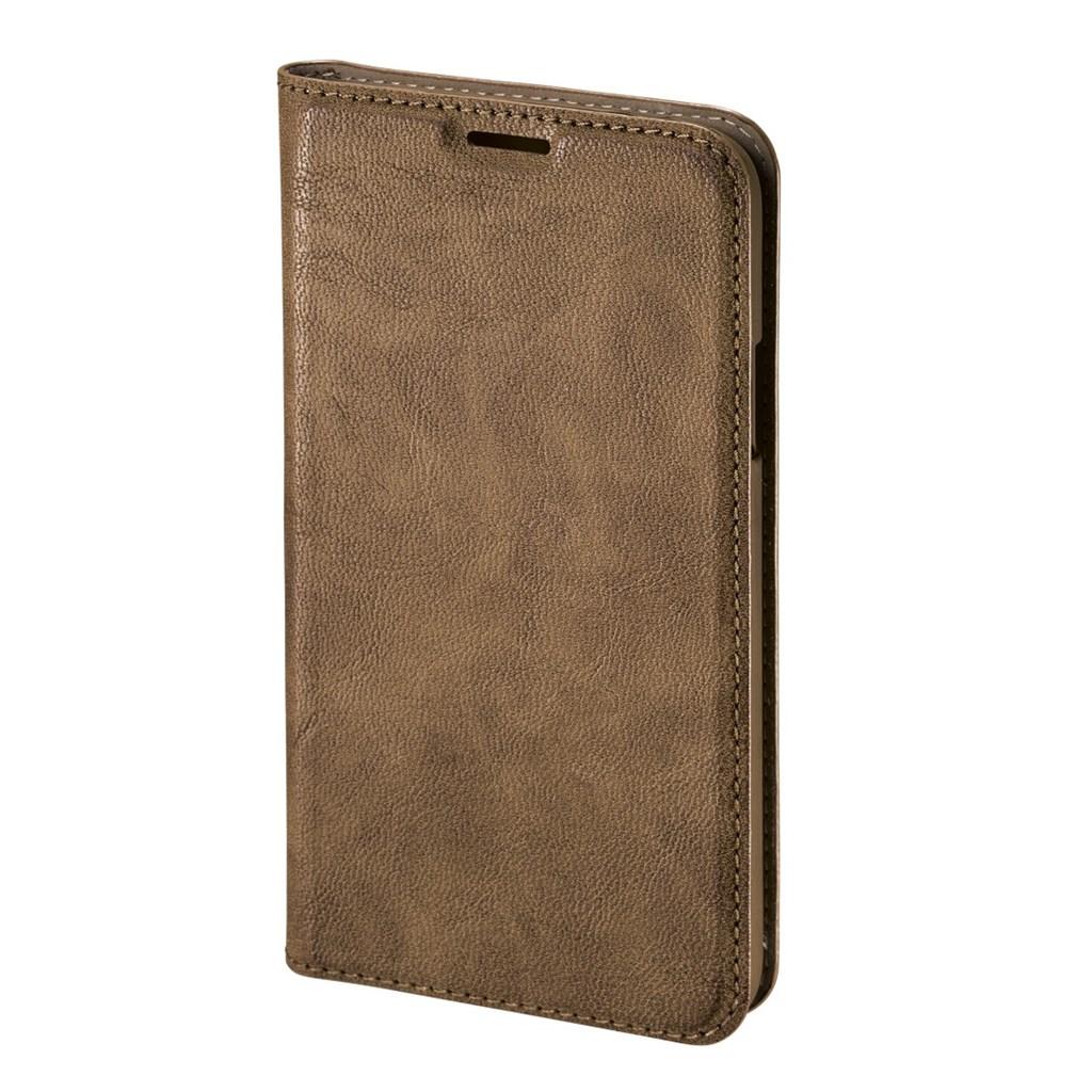 Hama Guard Case Booklet Case for Samsung Galaxy S5 mini, brown