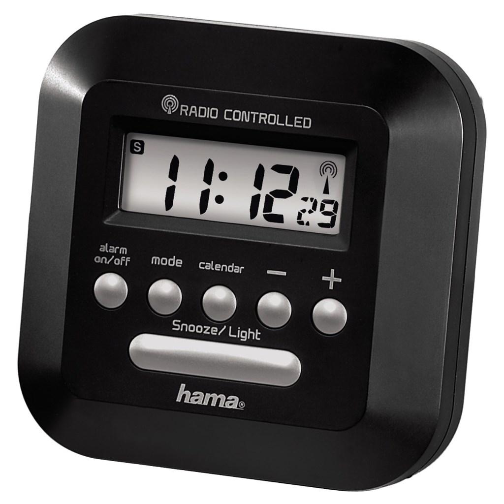 Hama RC 40 Radio Controlled Alarm Clock