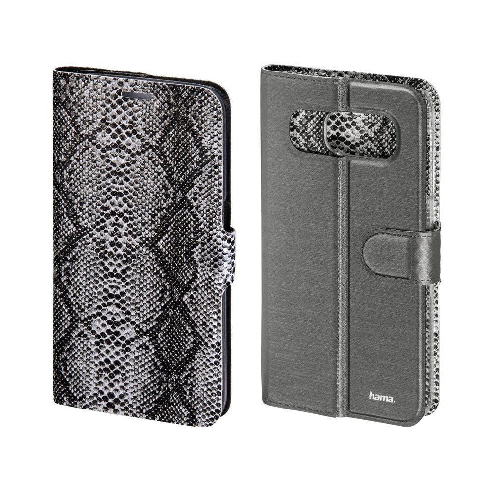 Hama Snake/Uni Reversible Booklet Case for Samsung Galaxy S6, black
