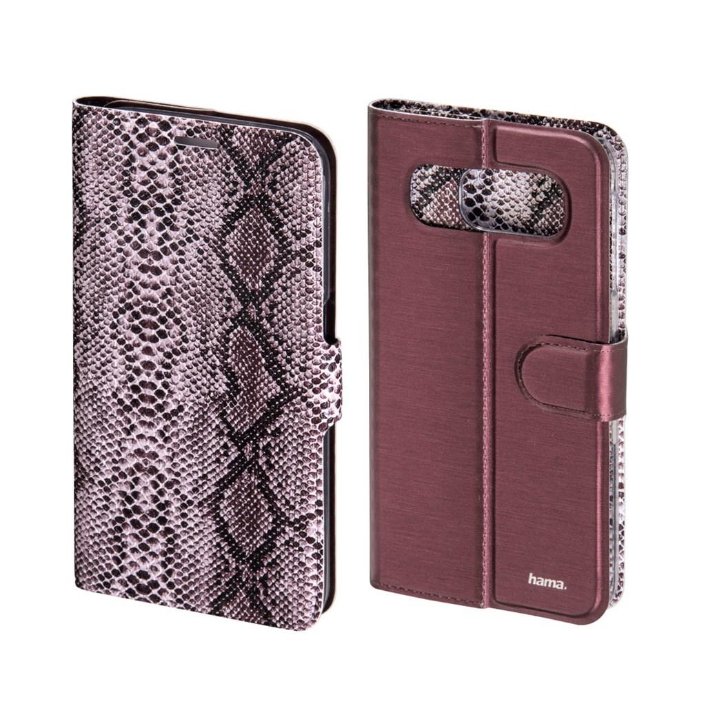 Hama Snake/Uni Reversible Booklet Case for Samsung Galaxy S6, marsala
