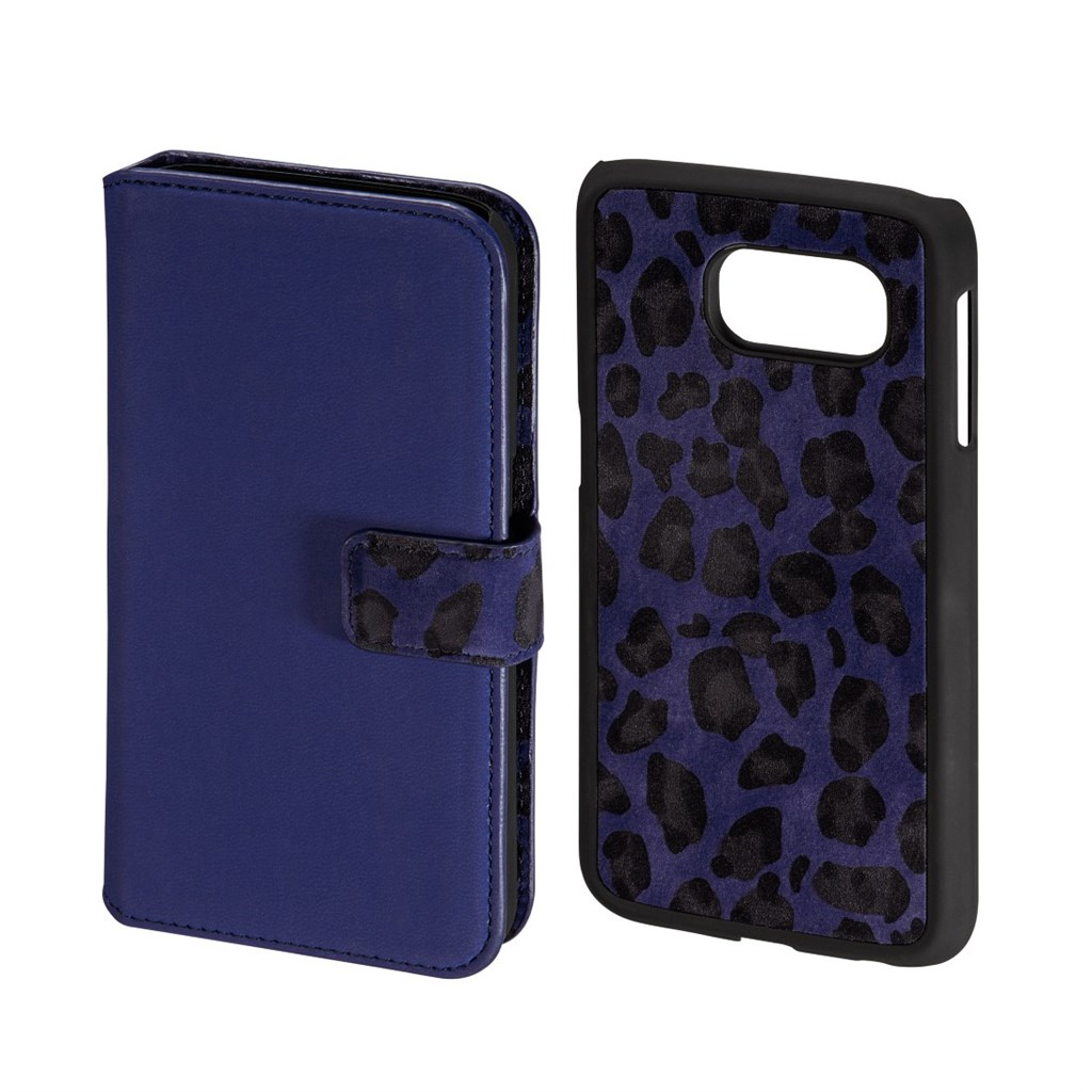 Hama Leo 2in1 Booklet Case for Samsung Galaxy S6, royal blue