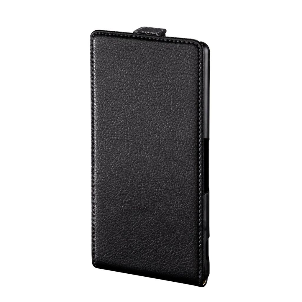 Hama Smart Case Flap Case for Sony Xperia M4 Aqua, black