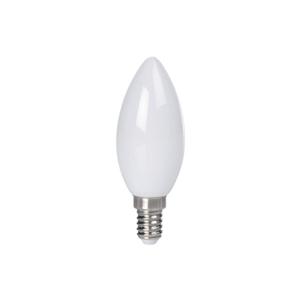 Xavax LED žárovka, 2,5 W (=25 W), E14, plně skleněná, svíčka, teplá bílá