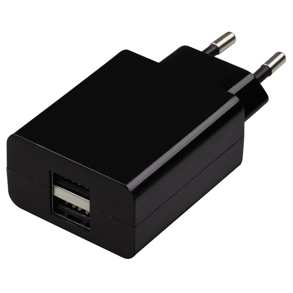 Hama dvojitá síťová USB nabíječka, 2,1 A