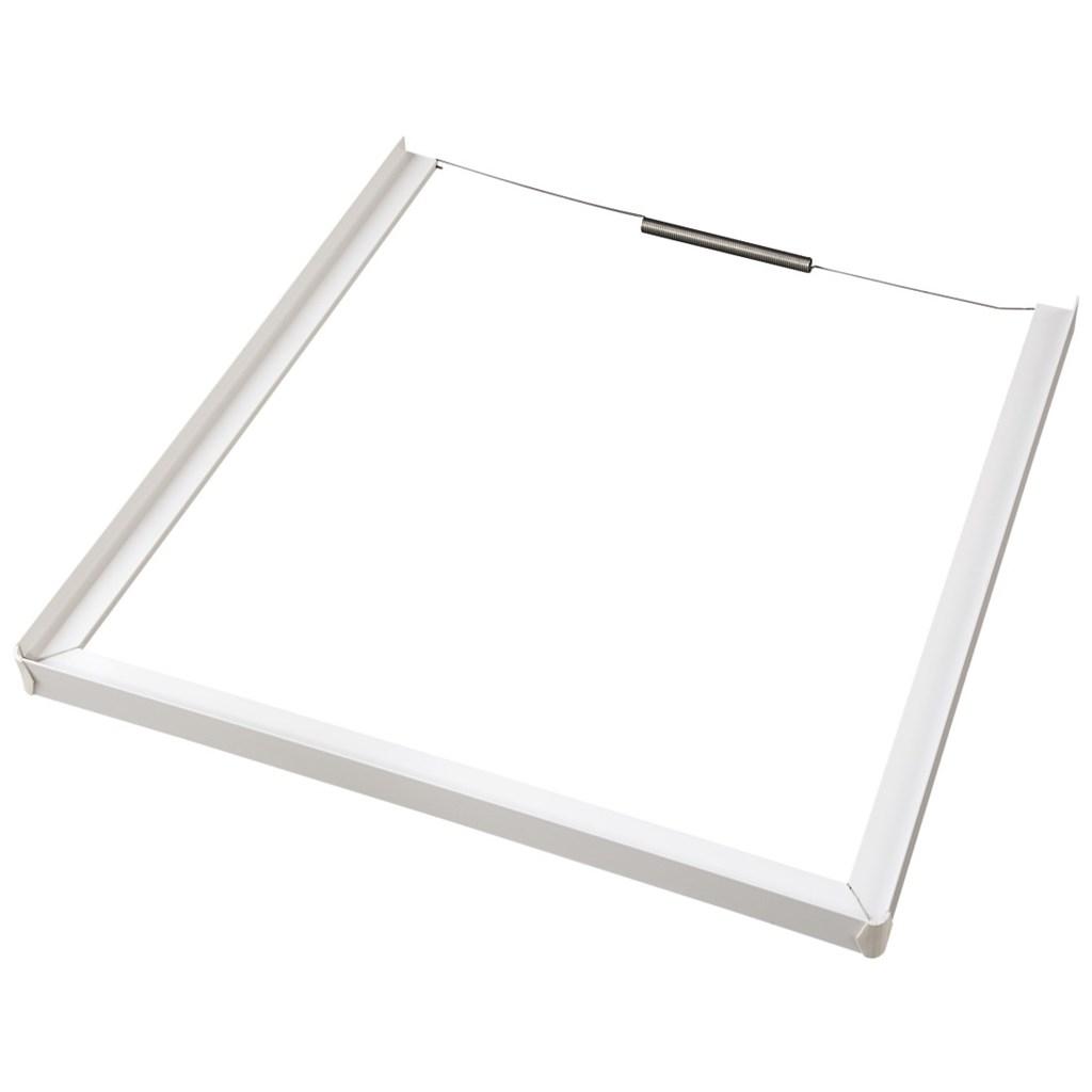 Xavax Intermediate Frame (closed front) for Washing Machine/Dryer, 60 x 60 cm