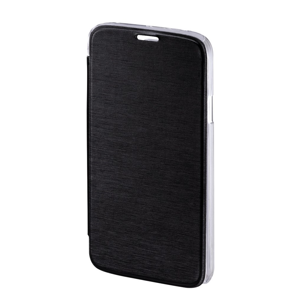 Hama Clear Booklet Case for Samsung Galaxy S5 (Neo), black