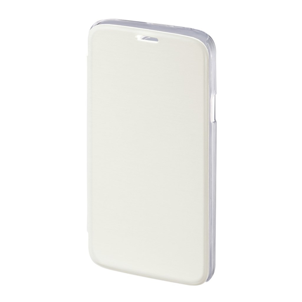 Hama Clear Booklet Case for Samsung Galaxy S5 (Neo), white