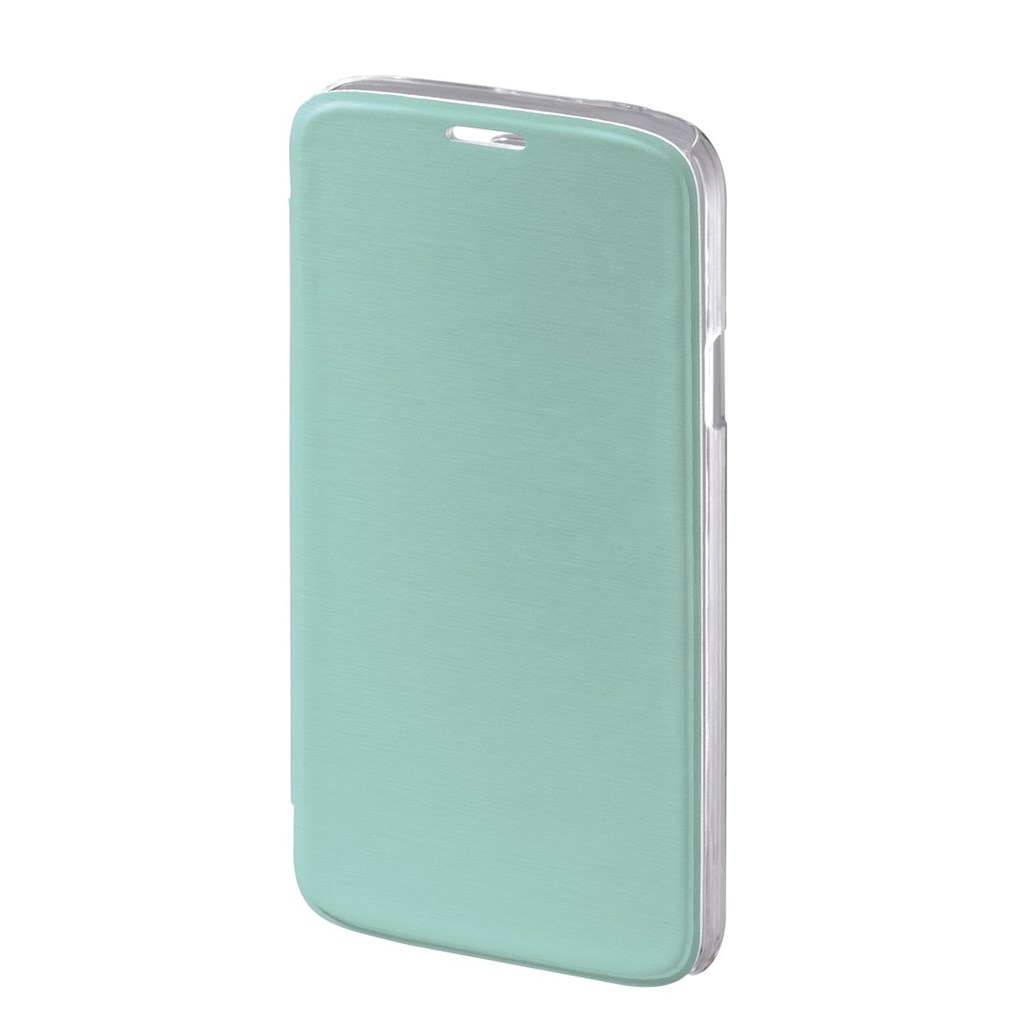 Hama Clear Booklet Case for Samsung Galaxy S5 (Neo), mint