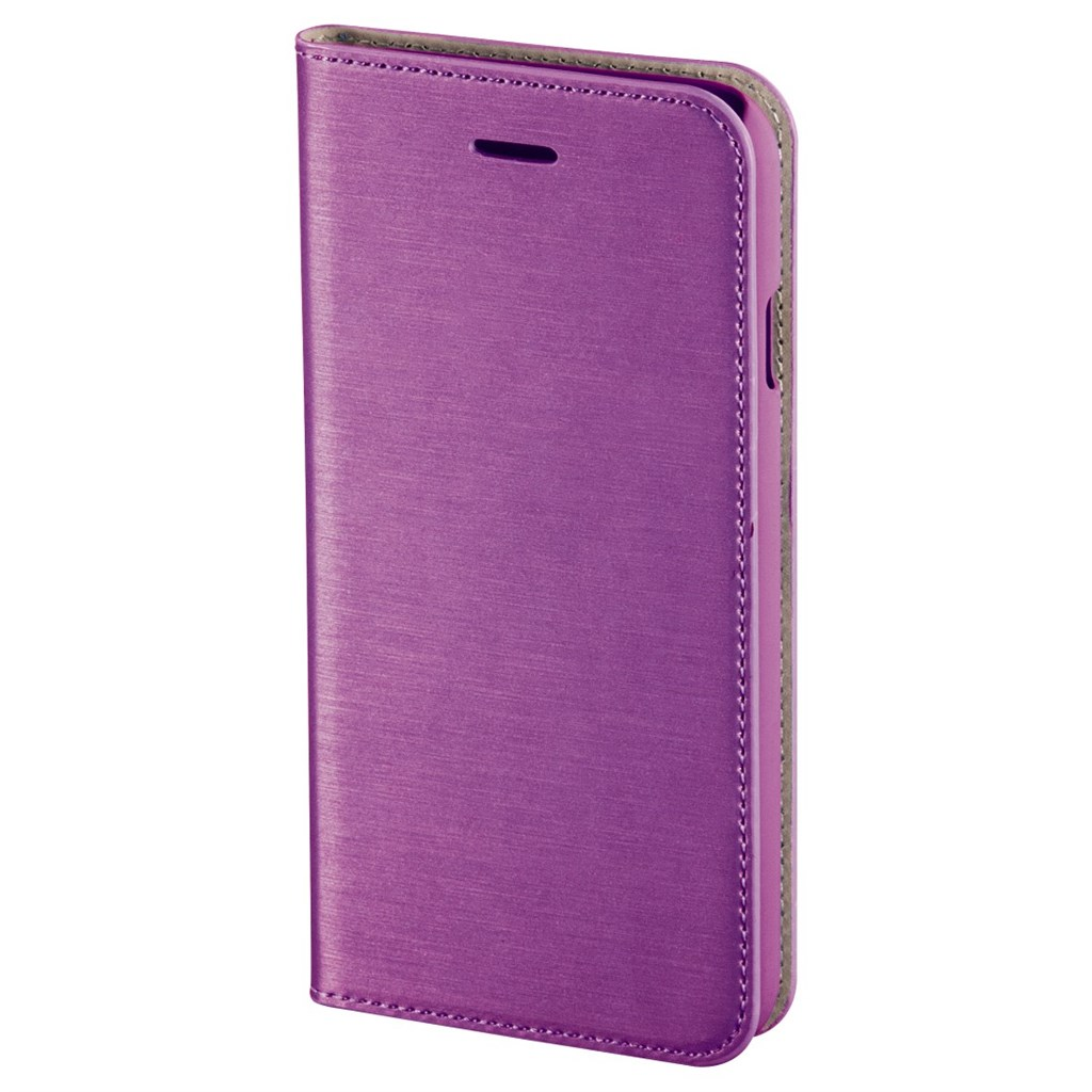 Hama Slim Booklet Case for Apple iPhone 6s, crocus pink
