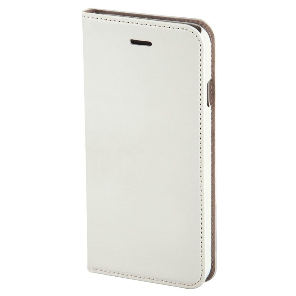 Hama Slim Booklet Case for Apple iPhone 6s Plus, white