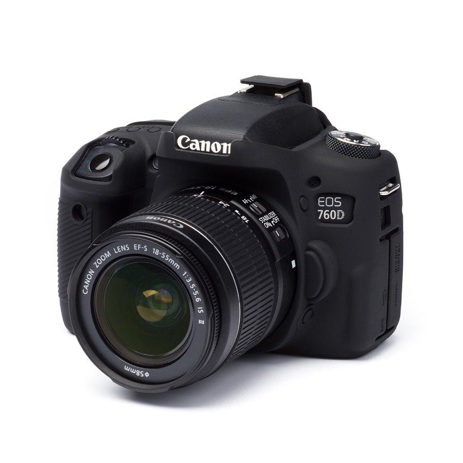 Easy Cover Reflex Silic Canon 760D Black