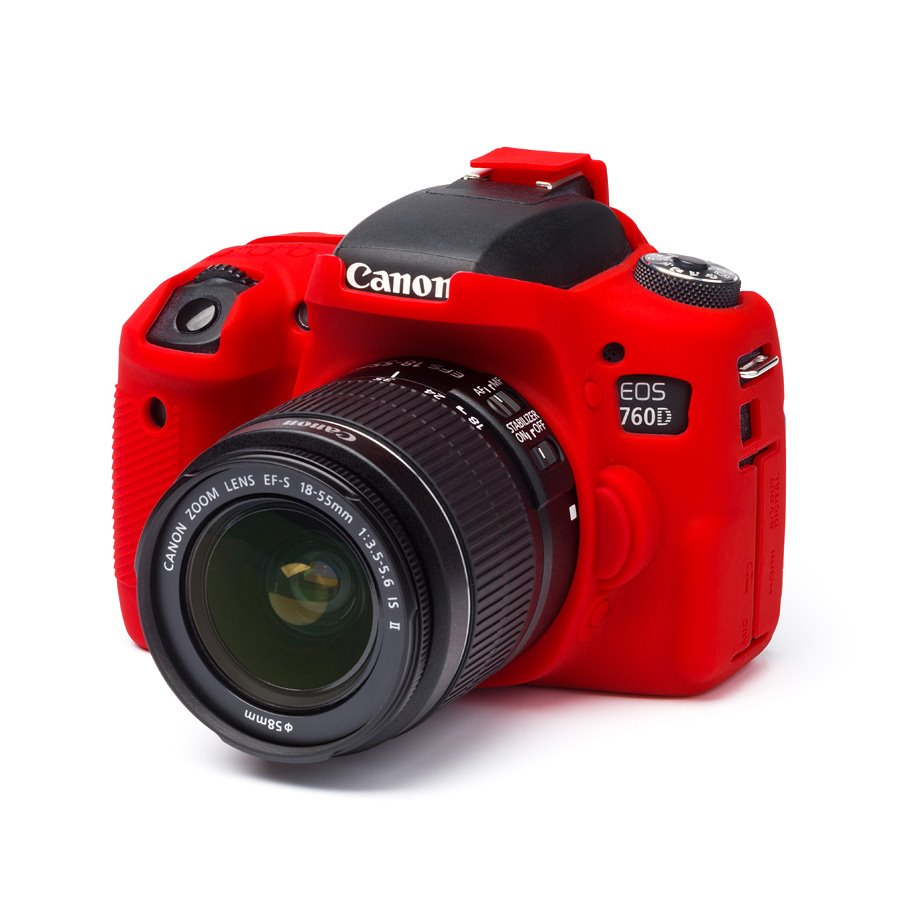 Easy Cover Reflex Silic Canon 760D Red