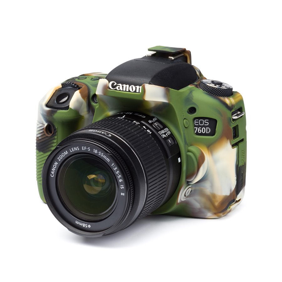 Easy Cover Canon 760D Camouflage