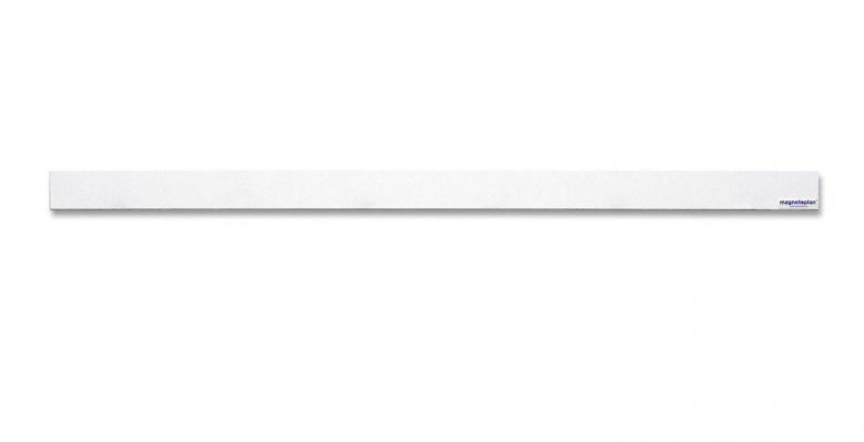 Lišta Magnetoplan, samolepící 1m bílá - 10ks