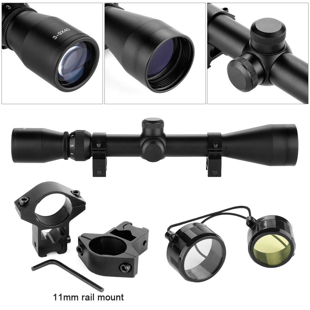 Viewlux Jaeger Rifflescope 3-9x40