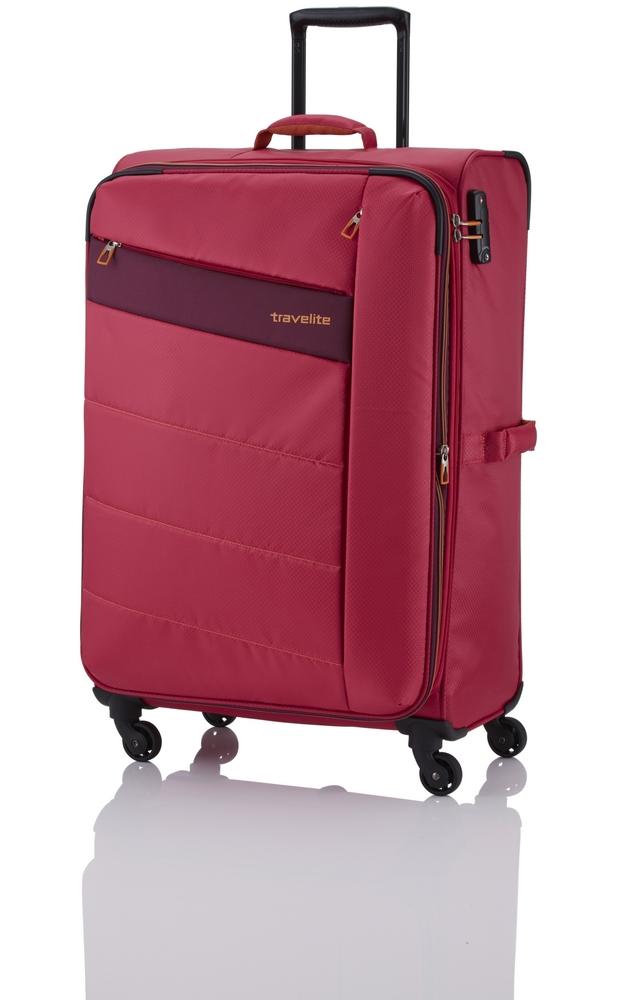 Travelite Kite 4w L Pink