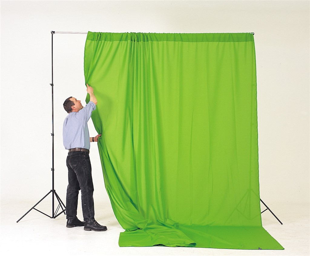 Lastolite Chromakey Curtain 3 x 3.5m Green (LC5781)