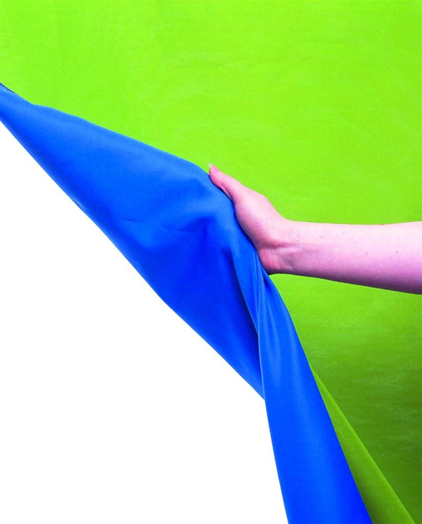 Lastolite Chromakey Curtain Reversible 3 x 3.5m Blue/Green (LC5787)