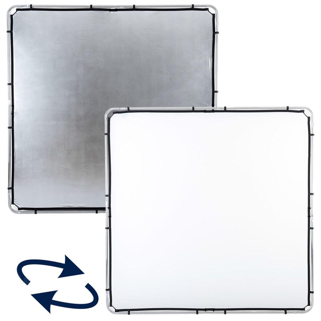 Lastolite Skylite Rapid Fabric Large 2 x 2m Silver/White (LR82231R)