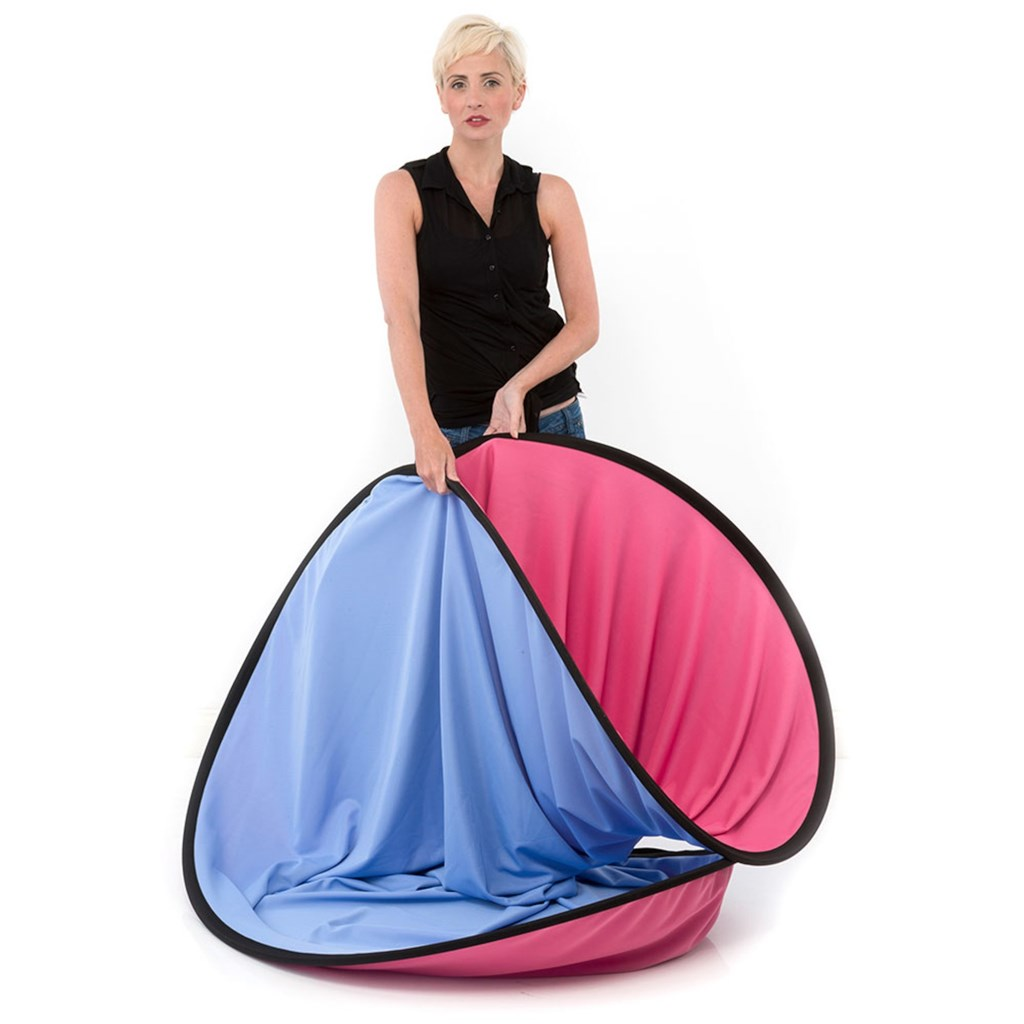 Lastolite Plain Collapsible 1.8 x 2.15m Blue/Pink (LB6751)