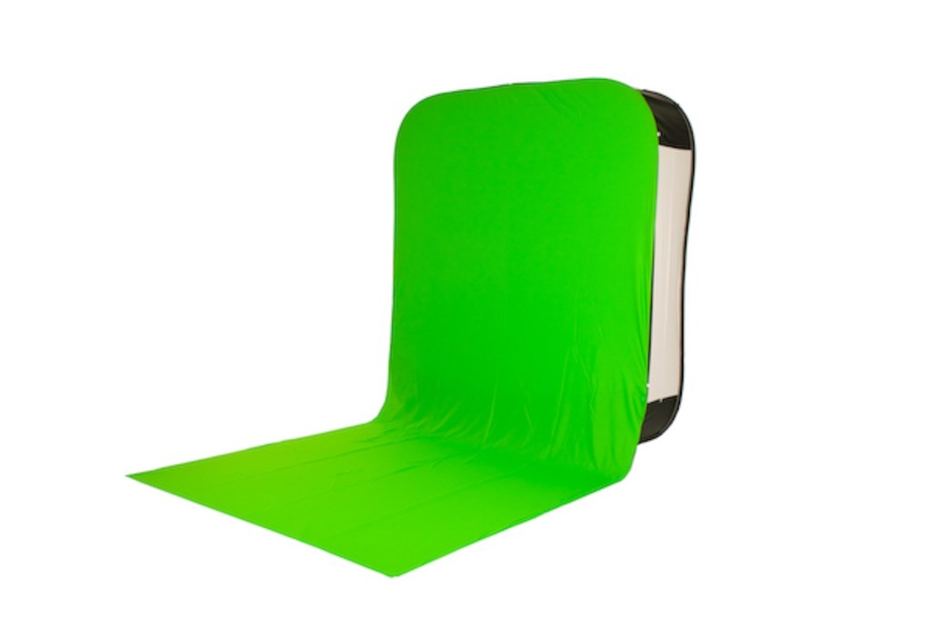 Lastolite Hilite Bottletop With Train Chromakey Green 1.8 x 2.15m (LB8881)
