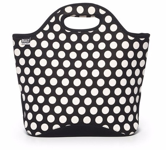 Built Market Tote Big Dot Black/White