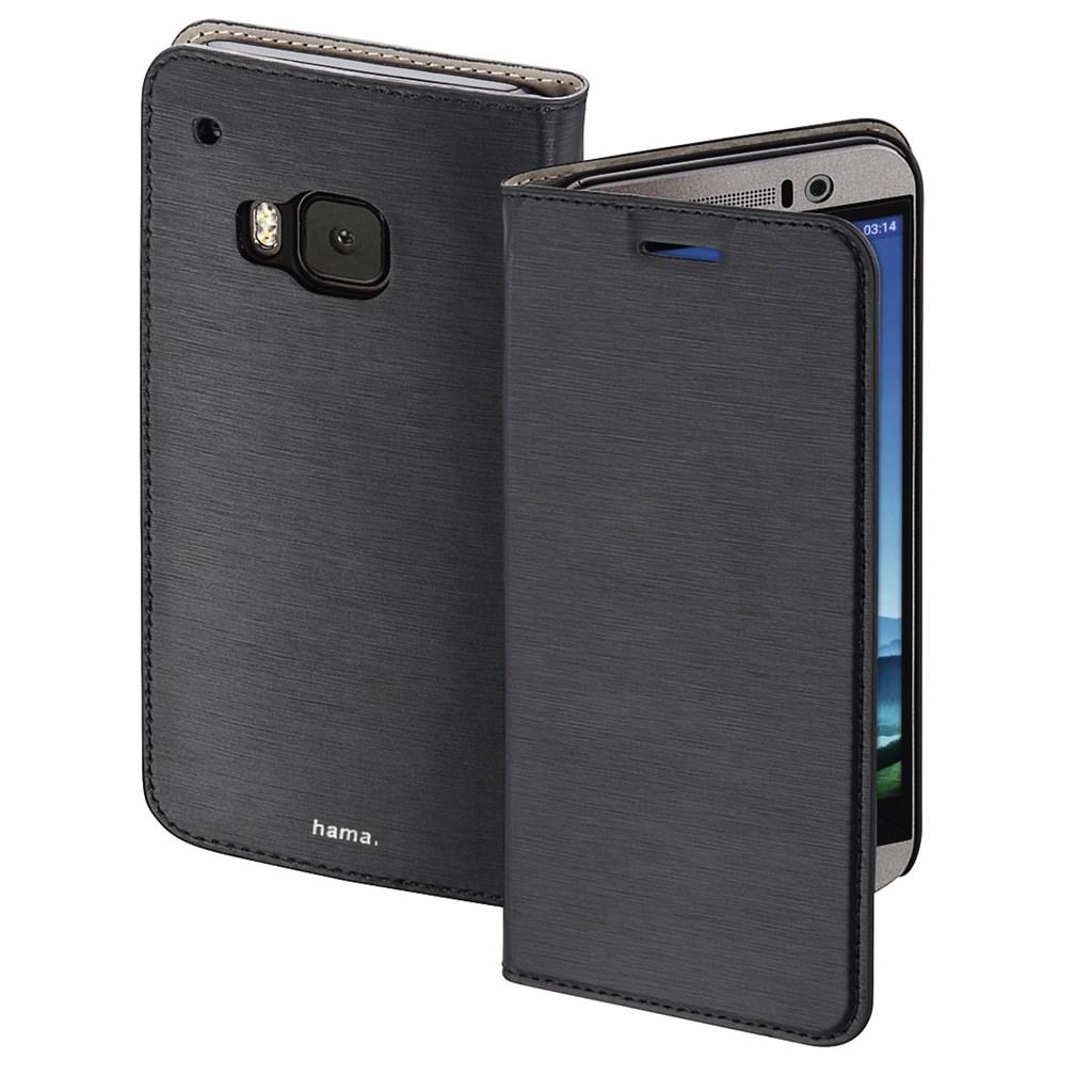 Hama Slim Booklet Case for HTC One (M9), black