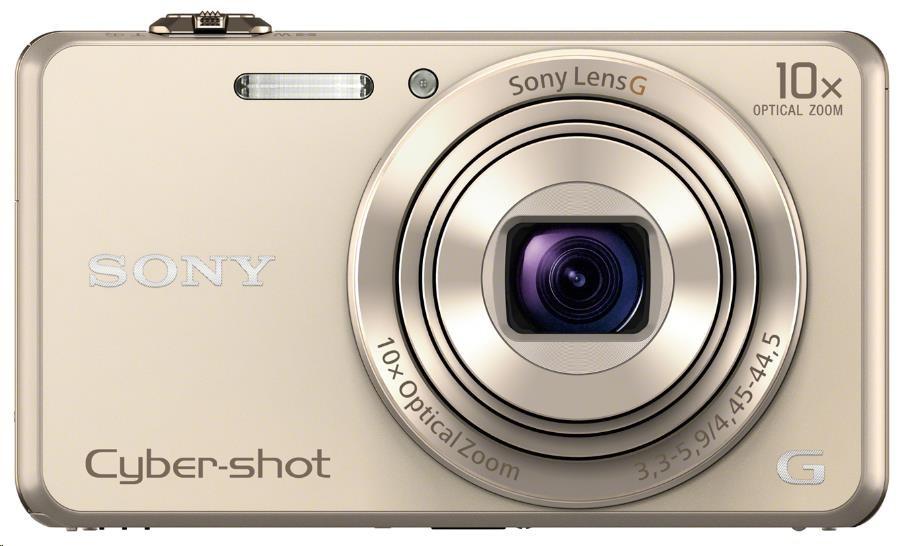 SONY DSCWX220N Cyber-Shot zlatý