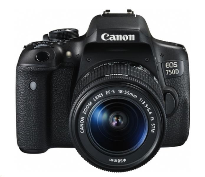 Canon EOS 750D EF-s 18-55 IS STM