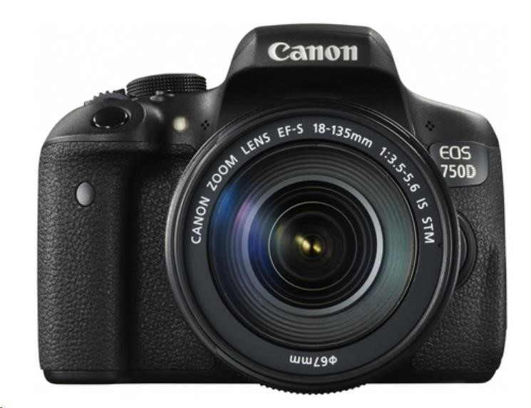 Canon EOS 750D EF-s 18-135mm IS STM