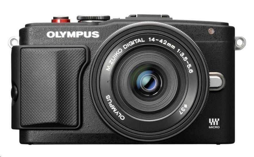 Olympus E-PL6 černý/černý