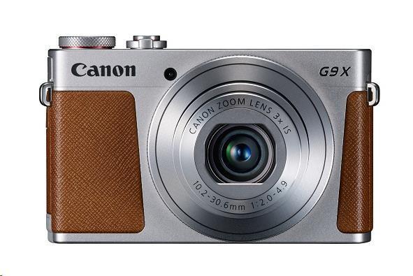 Canon PowerShot G9X stříbrný