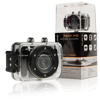 """CAMLINK Akční HD kamera 720p s 2"""" dotykovým displejem - CL-AC10*"""