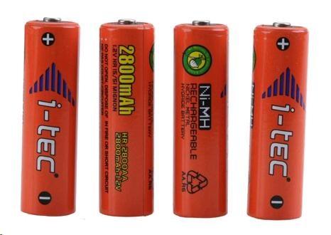 iTec AA nabíjecí akumulátory 4ks (2800mAh)