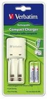 VERBATIM Kompaktní nabíječka baterií AA+AAA