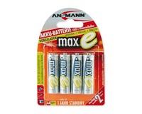 Baterie - Ansmann maxE Mignon NiMH 4xAA 2100mAh