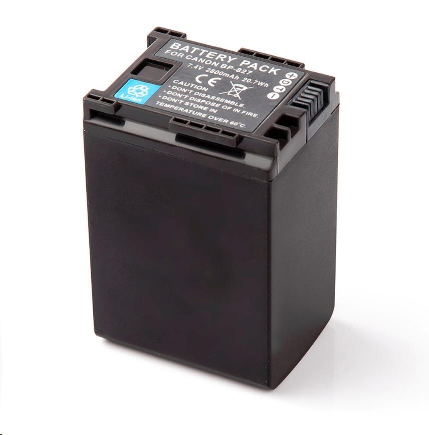 MadMan baterie pro Canon BP-827