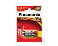 PANASONIC Alkalické baterie - Pro Power AAA 1,5V balení - 2ks