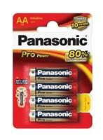 PANASONIC Alkalické baterie - Pro Power AA 1,5V balení - 4ks