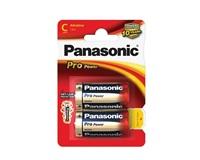PANASONIC Alkalické baterie - Pro Power C 1,5V balení - 2ks