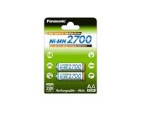 PANASONIC High capacity - Nabíjecí baterie AA 2500mAh 1,2V balení - 2ks