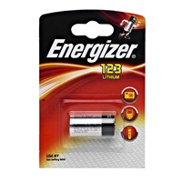 ENERGIZER LITHIUM PHOTO speciální baterie do fotoaparátů EL123AP 3V BL1