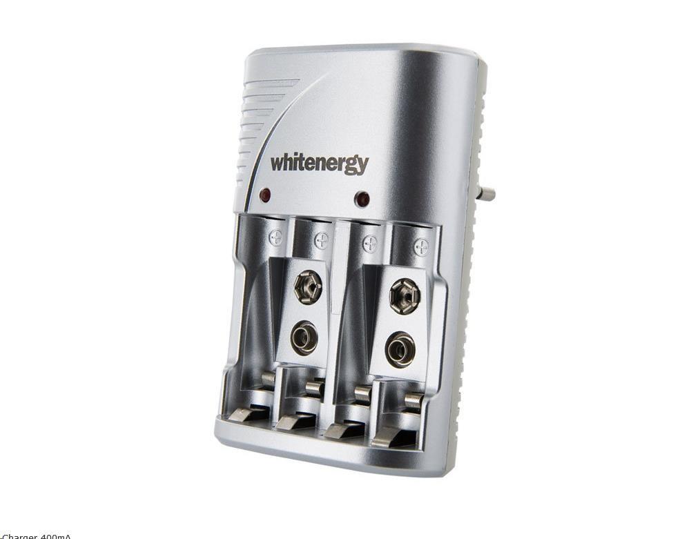 Whitenergy nabíječka akumulátorů (4xAA/AAA, 2x9V)