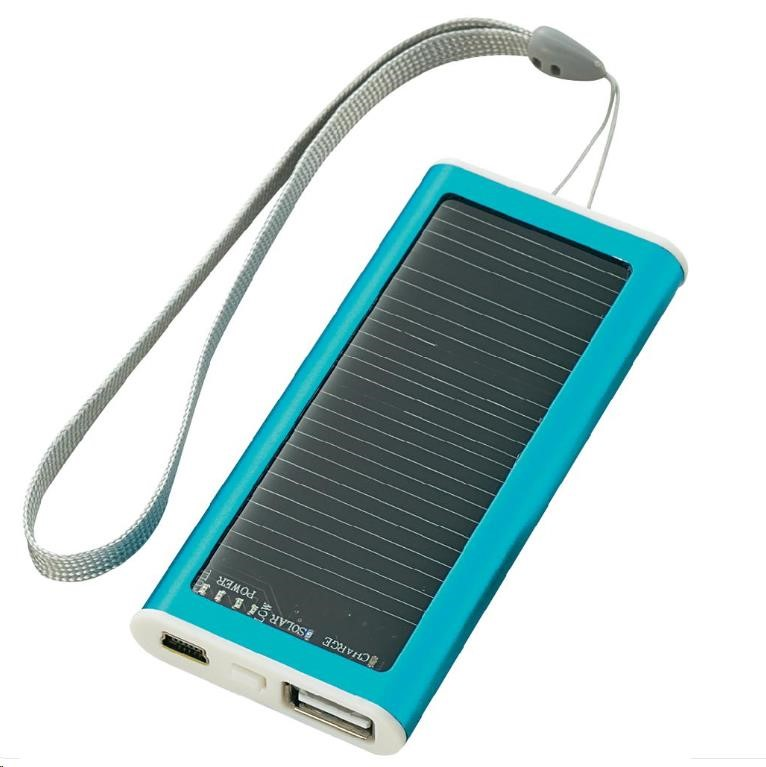 CONRAD Mini solární nabíječka Li-Pol, 1200 mAh