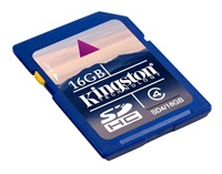 Kingston 16GB SecureDigital (SDHC)