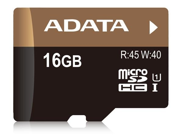 ADATA Micro SDHC karta 16GB UHS-I U1
